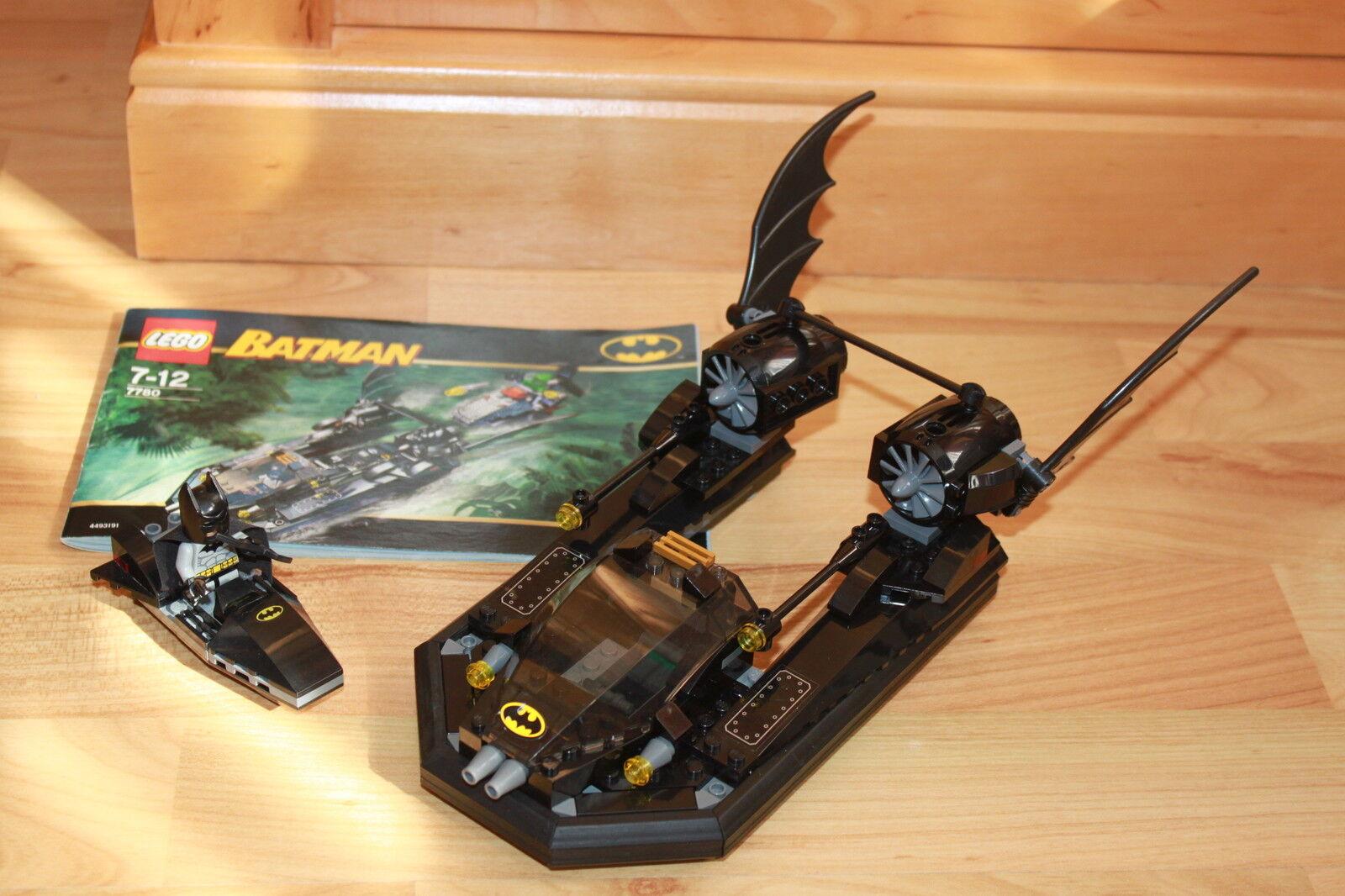 Lego Batman - das Batboat Badman Stiefel aus Set 7780  Die Jagd nach Killer Croc