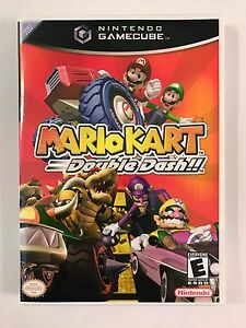 Details About Mario Kart Double Dash Gamecube Replacement Case No Game