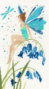 BOTHY THREADS CRYSTAL FAIRY COUNTED CROSS STITCH KIT BY SUE WADDICOR XF8