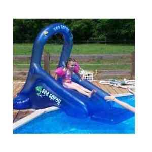 Image Is Loading Sea Spray Inflatable Pool Slide Inflatable Slide Swimming