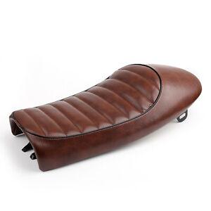 Seat for Cafe Racer or Scrambler Rebuilding Craftride Flat brown