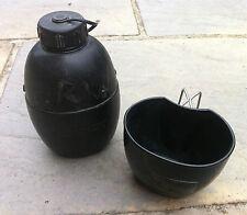Genuine British Military Issue NATO Osprey 58 Pattern 1 Litre Water Bottle & Mug