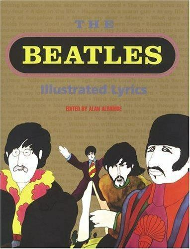 Beatles Illustrated Lyrics Edited By Alan Aldridge (Book HC/DJ 1990) 269 pages
