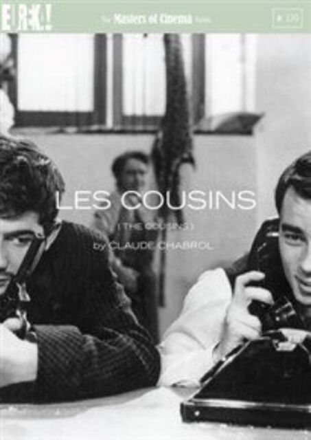 LES COUSINS (THE COUSINS) BY CLAUDE CHABROL R2 DVD JEAN-CLAUDE BRIALY VGC