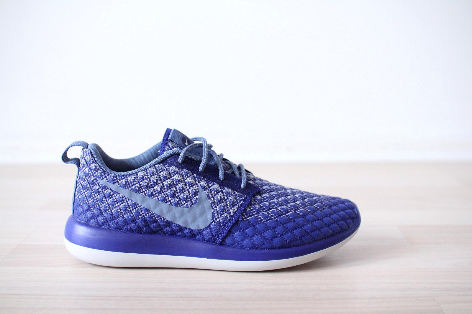 Nike Roshe Two Flyknit 365 WMNS Blau Weiß Gr. 37,38,39,40,41 NEU & OVP