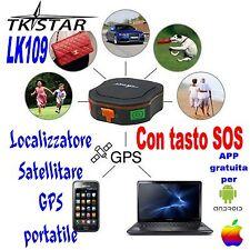 LOCALIZZATORE SATELLITARE LK109 GPS GSM GPRS ANTIFURTO TK STAR TRACKER PORTATILE