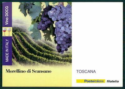 """Italien Werbekarte """"made In Italy"""" Weinanbau Wein Wine Trauben Toscana Ed55"""