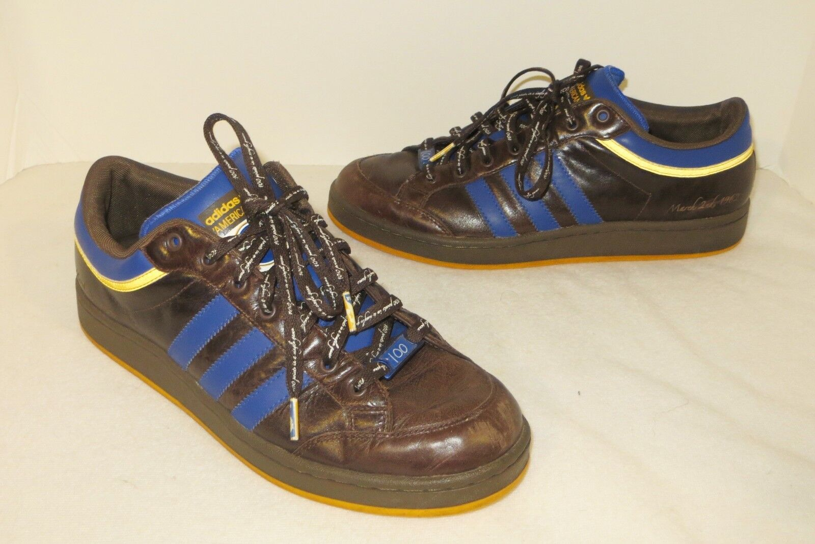 ADIDAS Americana Points 2008 Wilt Chamberlain 100 Points Americana Shoes Size Men 10 Women 12 0dafe4