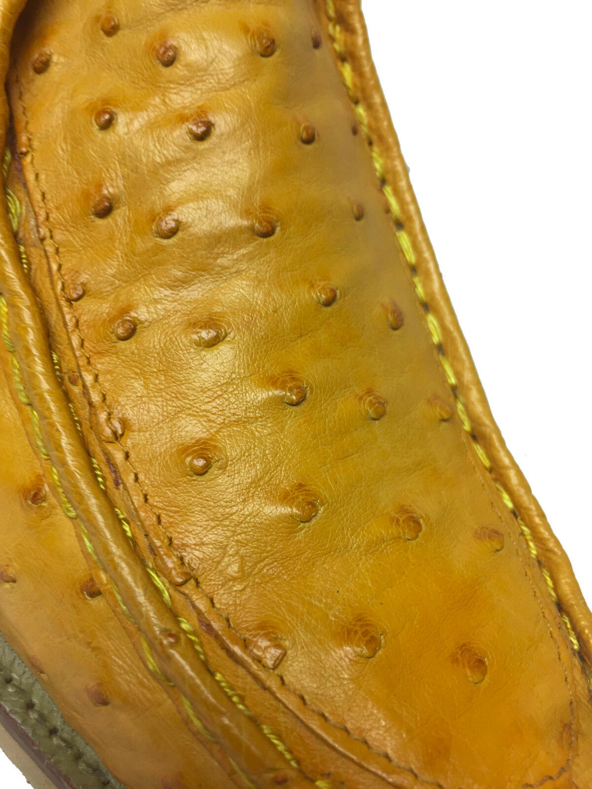 New Butter Yellow Full Full Full Real Ostrich Quill Crocodile shoes Sneakers Western Boots 7d2ebf