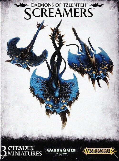 Tzeentch Screamers Games Workshop GW Warhammer Age of Sigmar Chaos Daemons 97-11