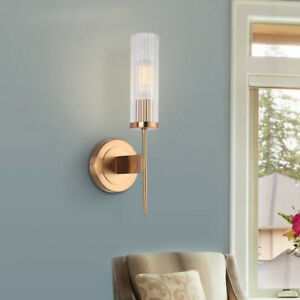 Image Is Loading 7w Led Wall Sconce Light Fixture E27 Bedside
