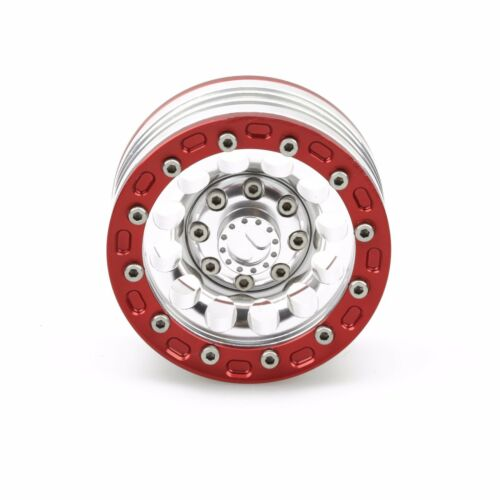 "4 ALIENTAC Four 1.9/"" Wide 1/"" Alloy Beadlock Wheel Rim for 1//10 RC Model #027"