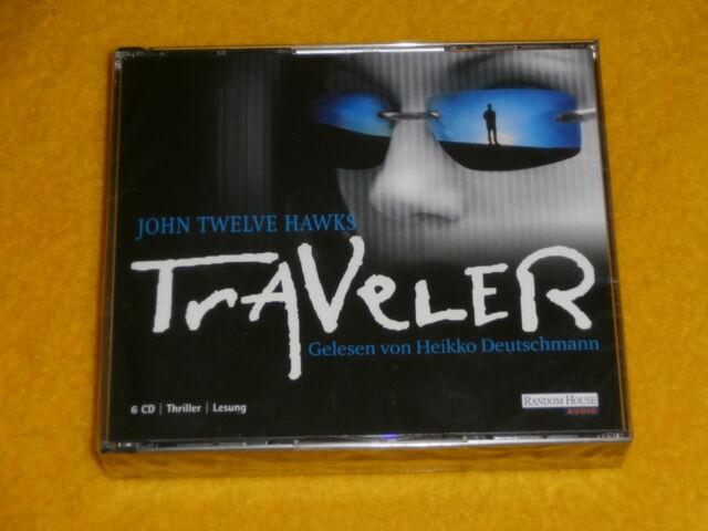 John Twelve Hawks ,Traveler, 6 CD Thriller Roman Hörbuch Lesung, Deutschmann NEU