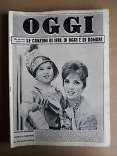 OGGI n°51 1961 Leo Vala - Speciale Le Canzoni di Ieri Oggi e DOmani italia[G749]