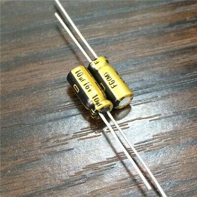 100pcs 10V47uf 10V Nichicon FG Muse capacitor 5x11mm Fine Gold for Audio