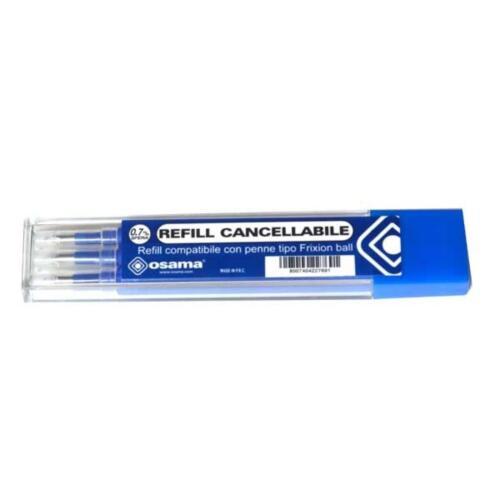 REFIL OSAMA CANCELLABILE COMPATIBILE CON FRIXION BLU