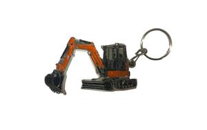 Kubota Branded 'For Earth For Life'  Kubota Excavator Metal Keyring