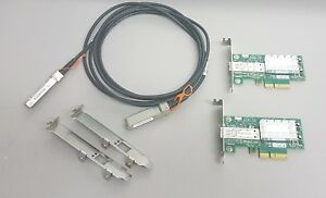 10G-Netzwerk-Kit-2x-Mellanox-ConnectX-3-10Gigabit-NIC-10GBe-3m-SFP-Cisco-Kabel