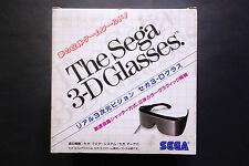 THE SEGA 3-D Glasses Sega Master System/MARK III JAPAN Very.Good.Condition C.I.B