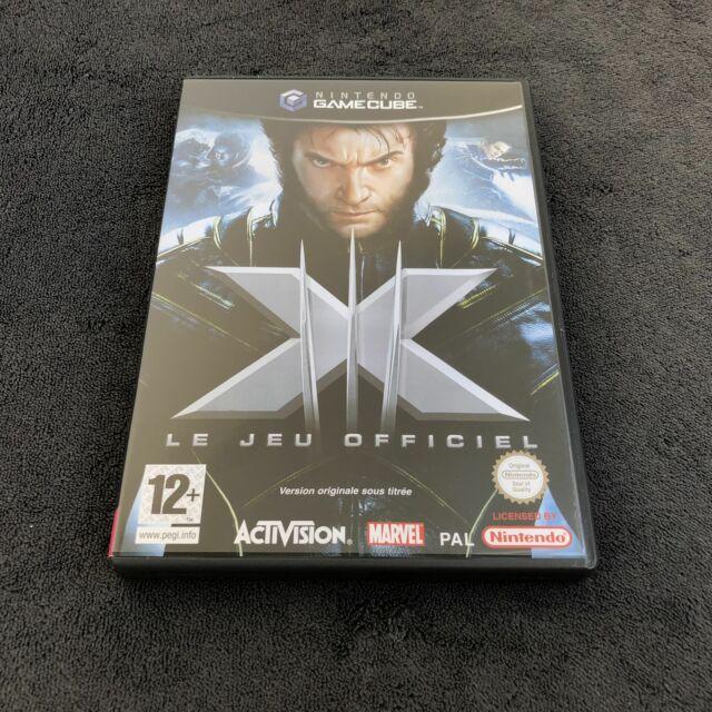 Nintendo Game Cube X-Men Le Officiel FRA Quasi neuf