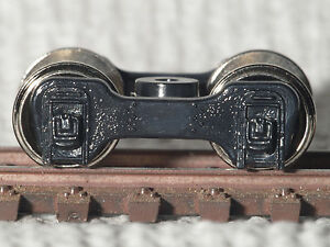 RCR-MDC-ROUNDHOUSE-HO-TRUCKS-FOX-with-33in-WHEELS-2-PAIR