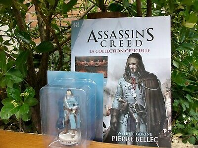pierre bellec SOLDES assassin/'s creed figurine fascicule neuf hachette NEUF