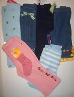 Girls 18-24 M Gymboree Pick Pants Jeans Corduroys Blue Maraca Stripe Vintage