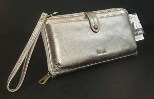the-sak-GENUINE-LEATHER-3-IN-1-PHONE-WALLET-WRISTLET-CROSSBODY-PYRITE-NWT