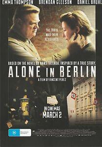 Promotional-Movie-Flyer-ALONE-IN-BERLIN-2016-Emma-Thmpson-Daniel-Bruhl