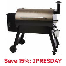 Traeger Grills TFB88PZB Pro Series 34 Pellet Grill and Smoker, Bronze