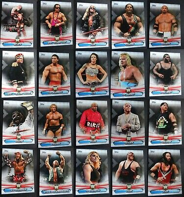 2019 Topps WWE Raw Bronze Parallel #1-90 Pick Your Card Complete Your Set Rousey