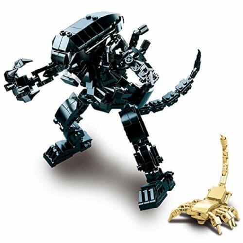Modbrix Alien Figur Xenomporph /& Facehugger 442 Teile Lizenz Actionfiguren
