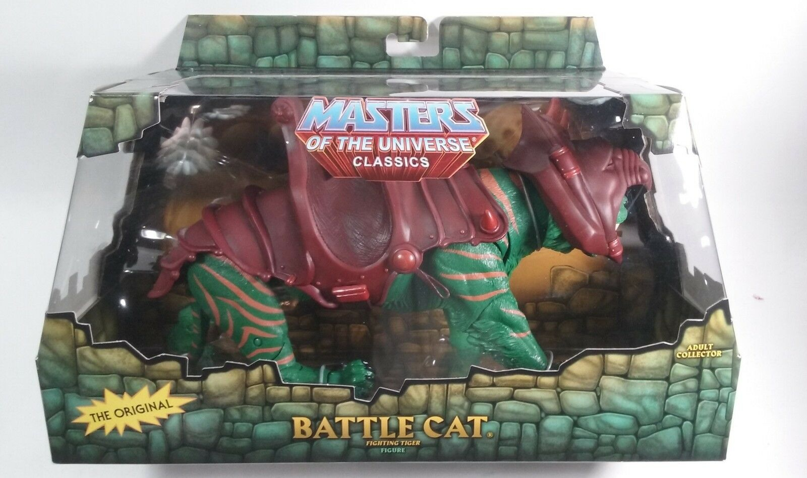 MOTUC, Battle Cat, Masters of the Universe Classics, sealed box box box MISB, He-Man 5c5acc