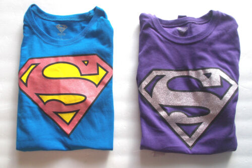 Superman Womens T-Shirts Junior Size Lg 11-13 NWT