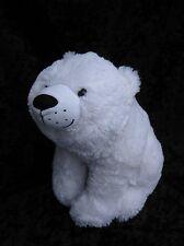 "Kohls Cares Polar Bear Soft Plush Animal 10"" Nancy Tillman Night You Were Born"