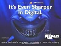 Finding Nemo Movie Poster (uk Quad) Disney, Pixar (digital Quad)