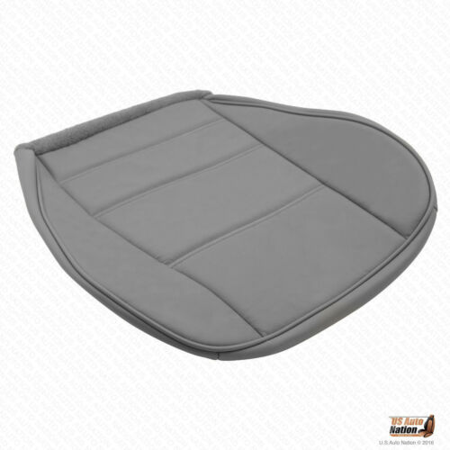 1999 2000 Ford Mustan V6 Coupe Driver Bottom Gray Leather Replacement Seat Cover