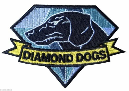 Metal Gear Solid Diamond Dogs Logo Embroidered Patch - Snake Phantom Pain 3 4 V