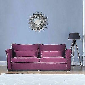 Awesome Divano Roma Furniture Exp114 Vv Classic Velvet Loveseat Purple Lamtechconsult Wood Chair Design Ideas Lamtechconsultcom