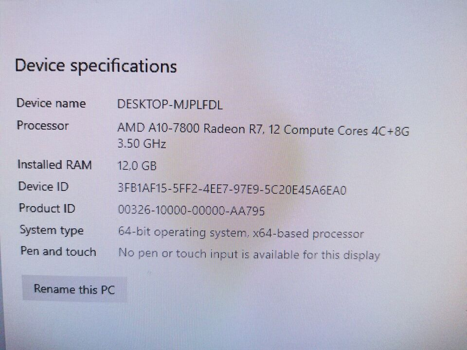 Asus, K30BF, AMD A10 Ghz