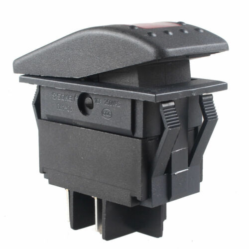 New Waterproof Marine Boat Car Rocker Switch 12V SPST ON-OFF 4PIN LED 4 Color