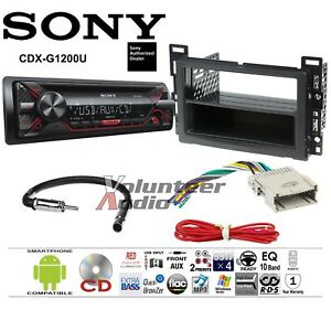 image is loading sony-cd-player-car-stereo-radio-install-dash-