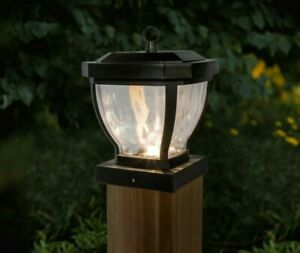 Details About 12 Pack 4x4 Dark Bronze Manchester Solar Post Cap Lights Wood Or Hanging