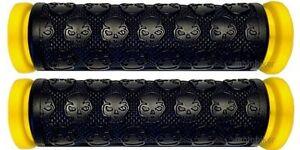 SEADOO-BOMBARDIER-WATERCRAFT-3D-GTI-GTS-GTX-SP-XP-PWC-YELLOW-SKULL-GEL-GRIPS