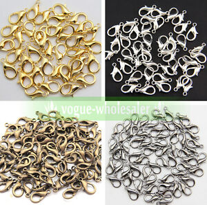 Wholesale-High-Quality-Jewelry-Finding-Lobster-Claw-Clasps-hook-6Size-Making-DIY