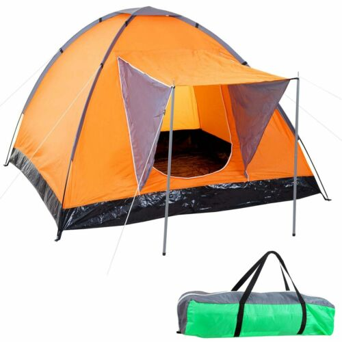 2 personas Tienda de camping Loksa 2-hombre carpa kuppelzelt igluzelt Festival-carpa