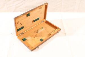 Old-Box-Wood-Transport-Chest-Storage-Measuring-Tool-Gauge-Case-Teaching