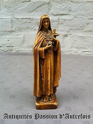 B20131102 - Objet Religieux : Sainte En Résine 16 Cm - Très Bon état