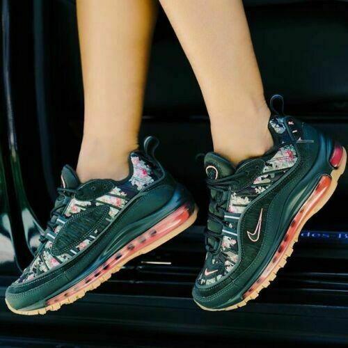 Nike Air Max 98 AQ6468-300 Green Floral