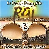 Various Artists : Double Disque D'or Du Rai Vol. 2 CD 2 discs (2002) Great Value